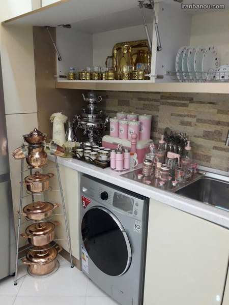 تزیین آشپزخانه عروس ایرانی