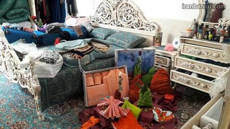 734481 - 100 مدل دکوراسیون خانه عروس + تزیین های شیک جهیزیه عروس با روبان