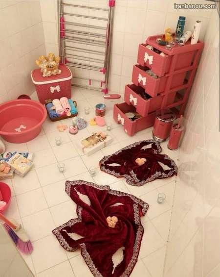 734490 - 100 مدل دکوراسیون خانه عروس + تزیین های شیک جهیزیه عروس با روبان