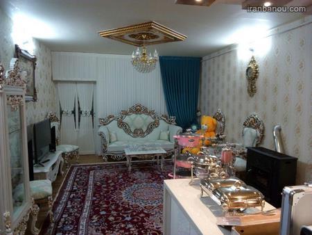 عکس چیدمان جهیزیه عروس ایرانی