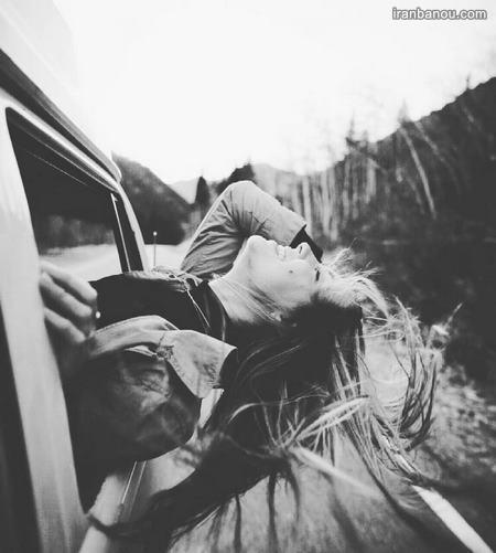 عکس های سیاه و سفید دخترانه