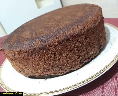 طرز تهیه کیک موکا مغزدار