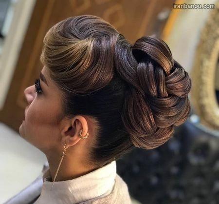 شینیون موی زنانه