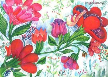 کارت پستال عیدت مبارک