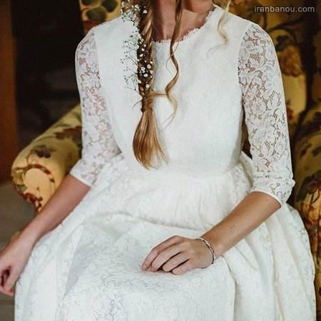 مدل لباس عروس فرمالیته شیک
