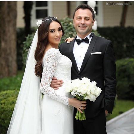 ست لباس عقد عروس و داماد اینستا