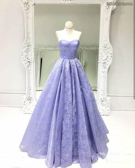 مدل لباس مجلسی دخترانه بلند