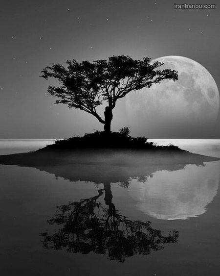 عکس ماه آسمان برای پروفایل