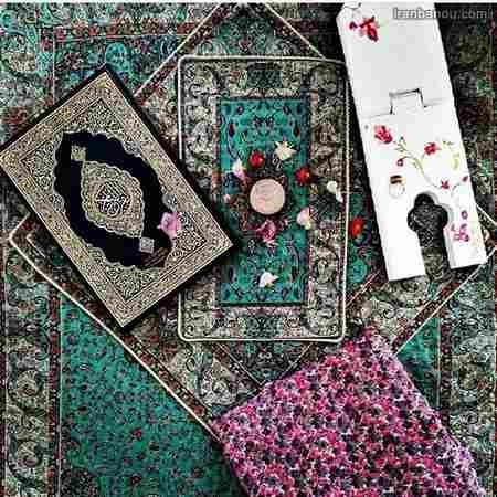عکس قرآن و سجاده برای ماه رمضان