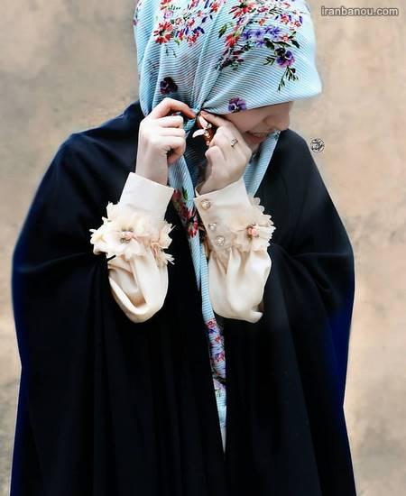 عکس دختر چادری غمگین