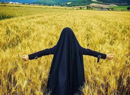 عکس دختر چادری جدید