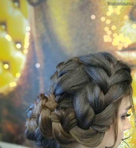 بافت موی عروس شیک