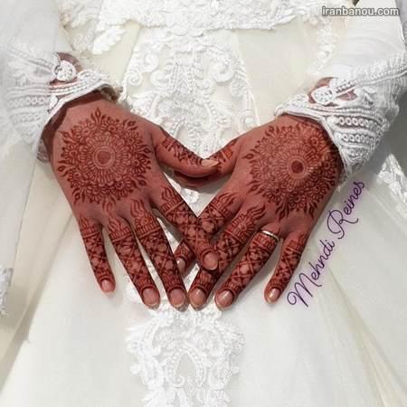 طرح حنا برای عروس