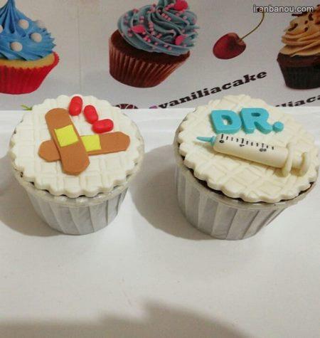 کیک تولد پزشکی دخترونه