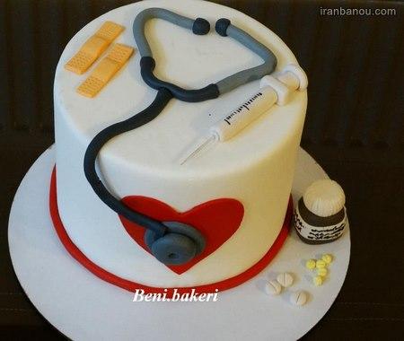 تصاویر کیک روز پزشک