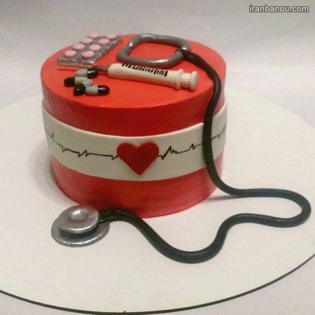 کیک روز پزشک زنان
