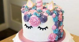 ماکت کیک یونیکورن