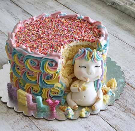 کیک تک شاخ پسرانه