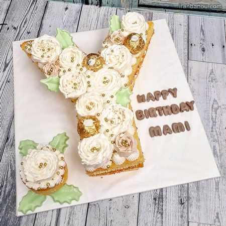 کیک حرف s