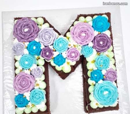 کیک حرف a