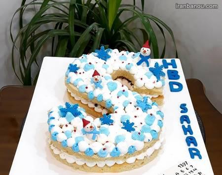 کیک تولد انگلیسی