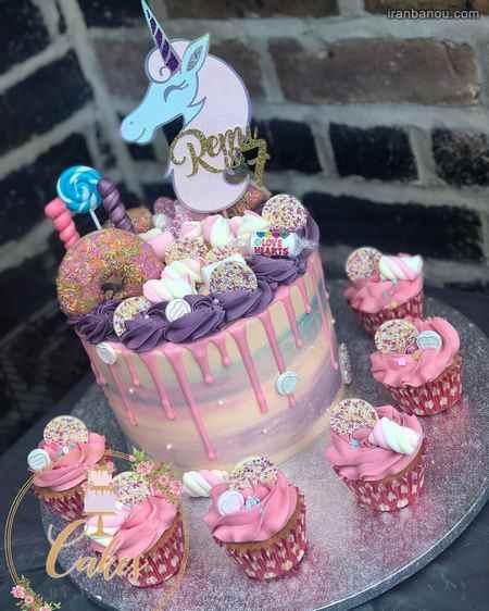 کاپ کیک یونیکورن