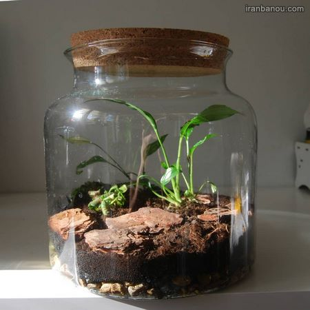 تزیین شیشه مربا با ایده های خلاقانه و جدید تزیین شیشه های دورریختنی