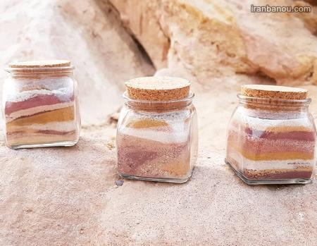 تزیین شیشه مربا با اکلیل