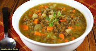 سوپ عدس عربی