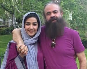 جشن دهمین سالگرد ازدواج سارا صوفیانی و همسرش + عکس