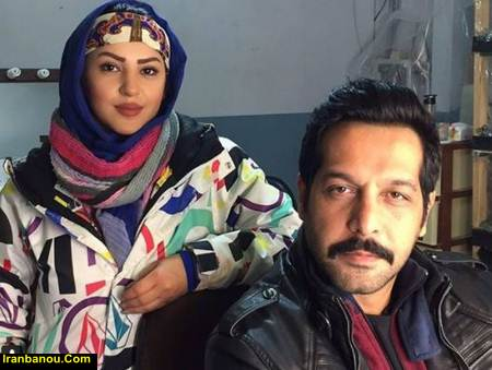 کامران تفتی در کنار همسرش