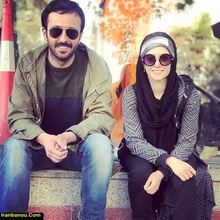 حسام محمودی و دوست دخترش