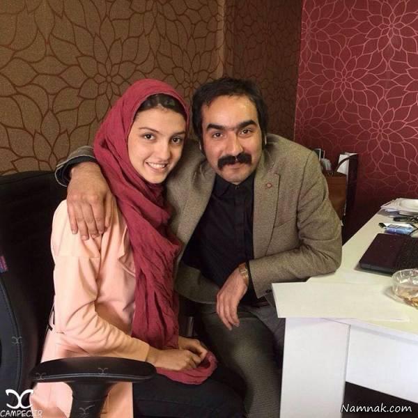 سجاد افشاریان و همسرش