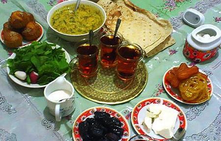 رژیم غذایی مناسب در ماه رمضان برای کاهش وزن