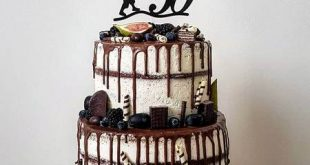 کیک تولد مردانه لاکچری