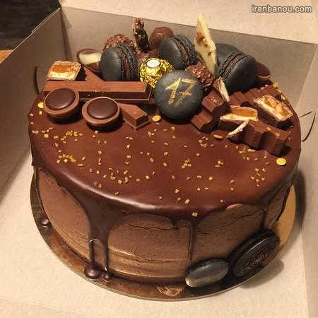 مدل کیک تولد مردانه لاکچری