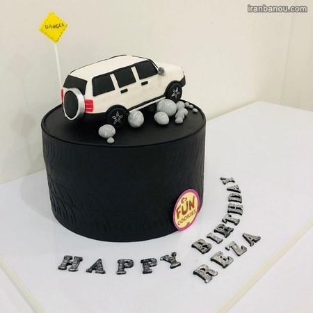 عکس کیک تولد پسرانه نوجوان