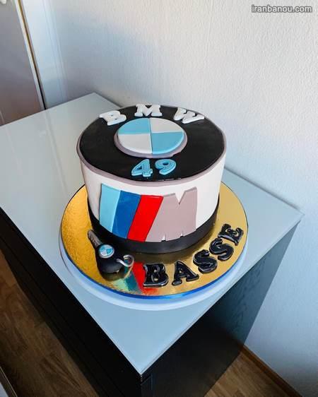 کیک تولد عاشقانه خاص