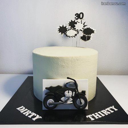 کیک تولد عاشقانه برای شوهر