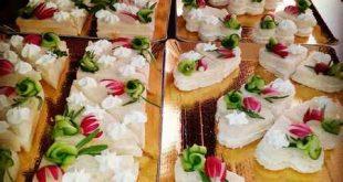 دیزاین نون و پنیر و سبزی برای روضه و افطار