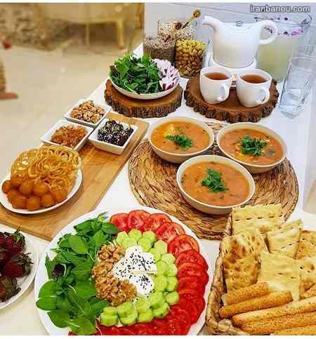 سفره افطار مهمانی