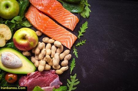 انواع رژیم های غذایی بدنسازی