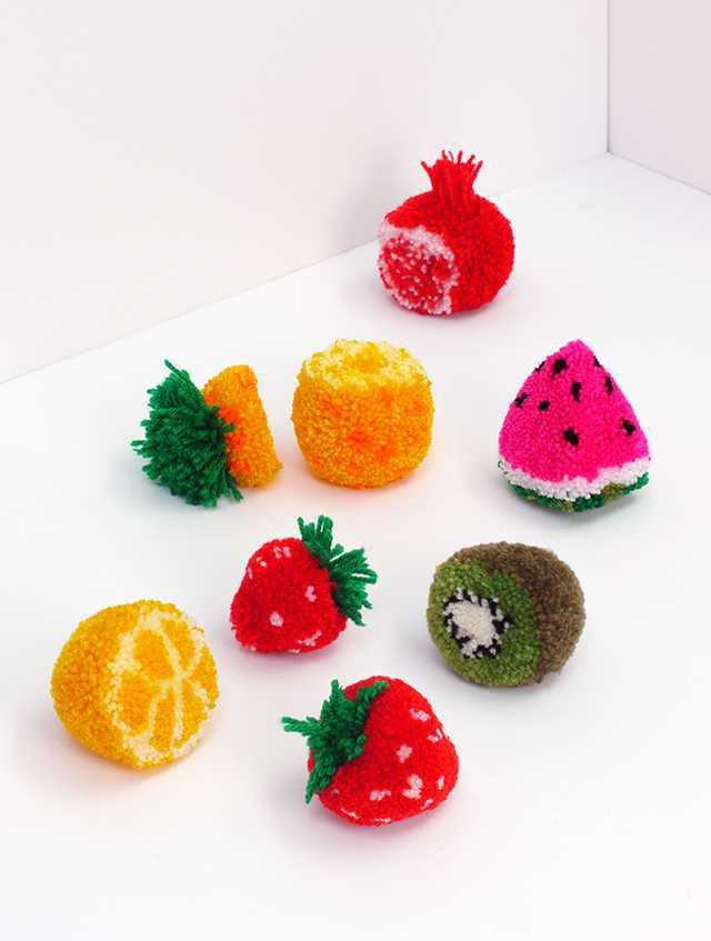 آموزش بافت میوه تزیینی (توت فرنگی)