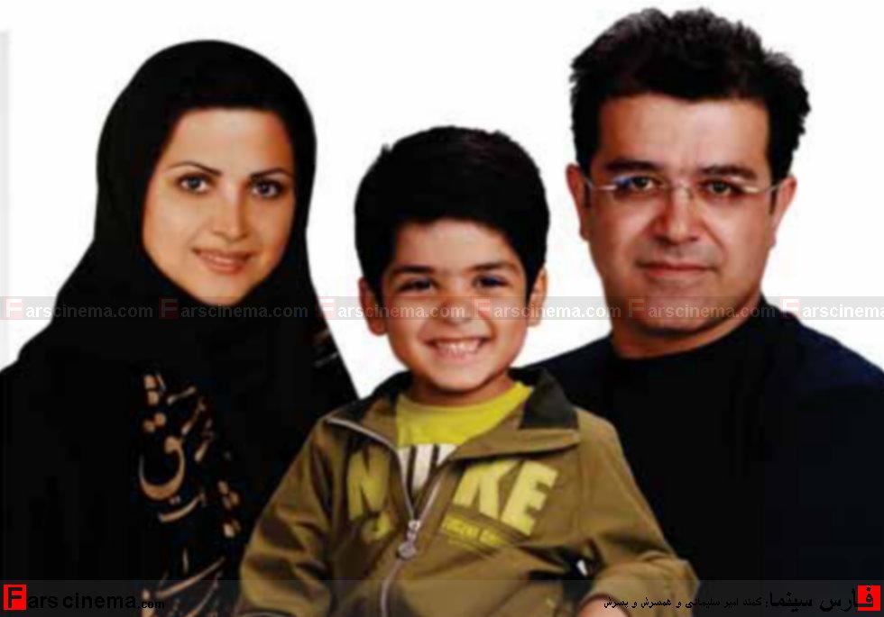 عکسهای کمند امیر سلیمانی،همسر و پسرش
