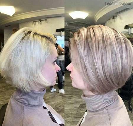 مدل رنگ موی ترکیبی