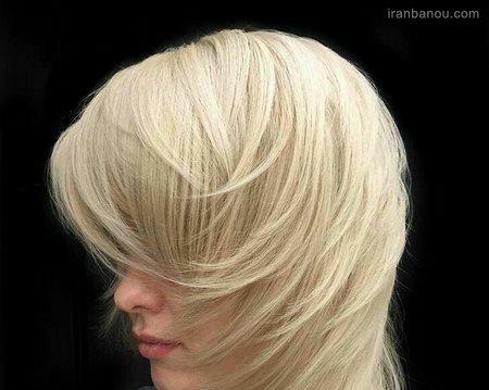 مدل موی بلوند