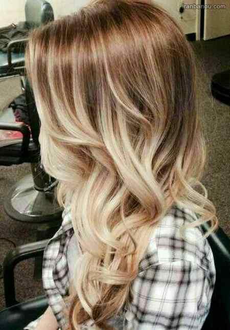 ترکیب رنگ مو برای پوستهای سبزه