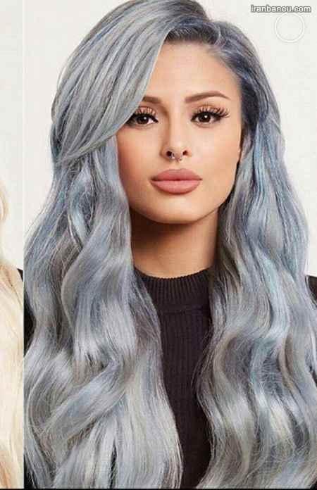 رنگ موی شیک