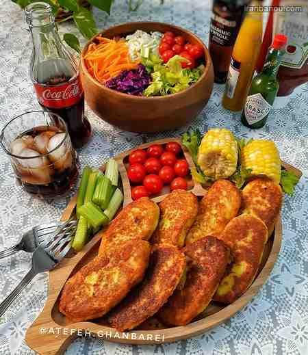 iranbanou19062413 2 - 100 مدل تزیین غذاهای ایرانی و سالاد و دسر