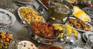 ديزاين غذاهاي ايراني